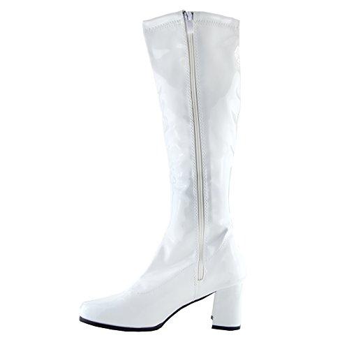 Hauts Femmes Bottes Talons Footwear Pour Hautes Kick Noir OwAx7