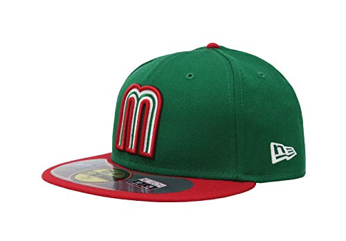 New Era Men 59fifty World Baseball Classic Mexico Hat Cap (7 ()