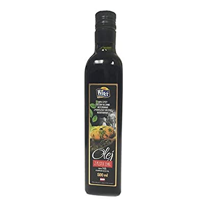 Styrian Pumpkin Seed Oil - 500 ml (500 ml): Grocery & Gourmet Food