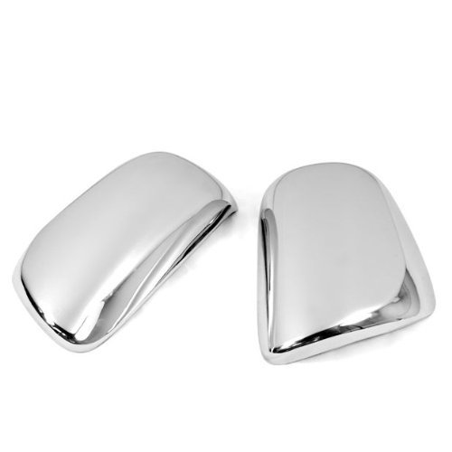 Triple Chrome Side Mirror Cover Trims For Toyota 2009 2010 2011 Corolla 2007 2008 2009 2010 2011 Yaris 2009 2010 2011 2012 ()