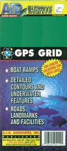 The Red River, Locks 4 and 5, Louisiana, Waterproof Fishing Map