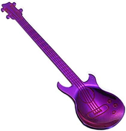 BETTER YOU (ベター ュー) キッチン用品 ステンレス 創意 ギター コーヒースプーン 可愛い おしゃれ 使いやすい 多色可選択 1個入れ (2)