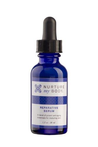 Nurture My Body All-Natural Reparative Serum, 4 fl oz. - Certified Organic Ingredients