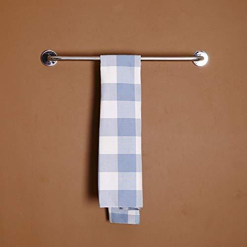 Agordo Bathroom Stainless Steel 50CM Bath Grab Bar Safety Support Towel Rack Holder (Twig Log Bed)