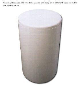 "Salt brine tank replacement for water softener 18"" x 33"" round"