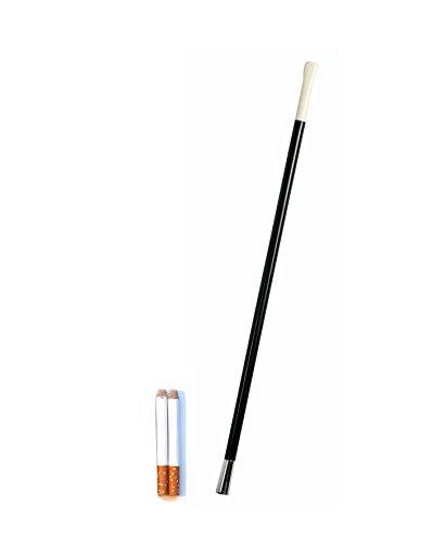 Fake Cigarettes & Cigarette Holder 1920s Flapper Accessory by Express Novelties (Charleston Man Costume)
