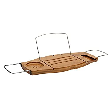 Umbra Aquala Bamboo Bathtub Caddy, Natural