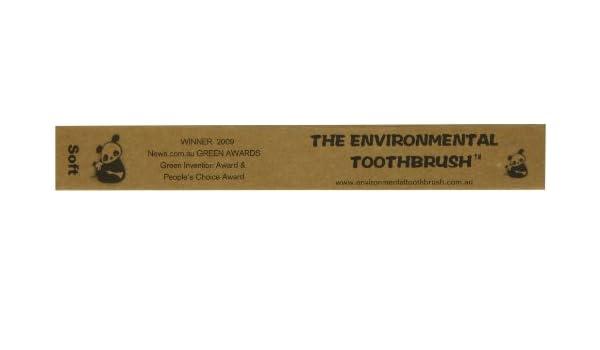El medio ambiente suave cepillo de dientes: Amazon.es: Salud y cuidado personal