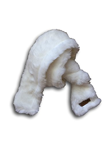 CovFur Faux Fur Scarf (Off White Mink)