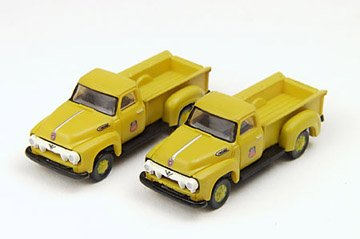 1954 Ford F350 MOW Pickup Truck UnioPacific (2) N Scale Classic Metal Works