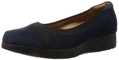Zapatos bailarina para mujer, color Azul , marca CLARKS, modelo Zapatos Bailarina Para Mujer CLARKS DAELYN HILL Azul Azul