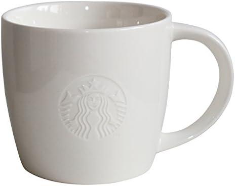 Starbucks Taza de café Taza Blanca clásica Coleccionistas Blancos Venti 20oz: Amazon.es: Hogar