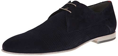 HUGO by Hugo Boss Men's Virtuol Oxford, Dark Blue, 7.5 M US