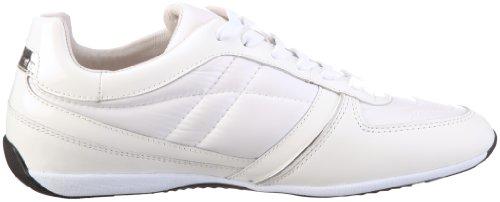 Samsonite weiss white Black Sneaker Orlando Woman Bianco Donna Leather mesh pqpFrx