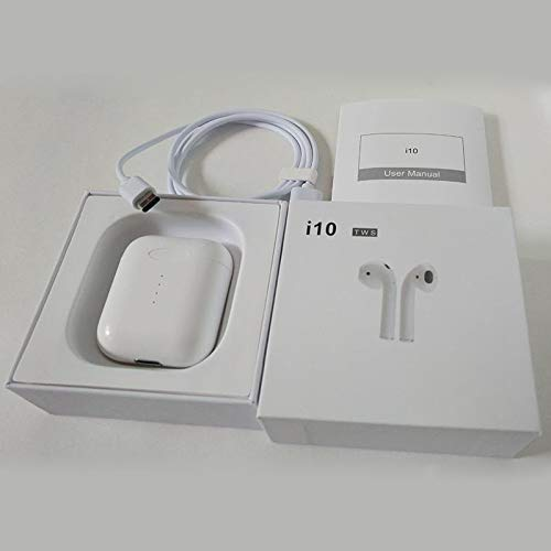 imesudeurope.online TWS Ear-Kopfhörer Mini i10 Ultimo BT 5.0 Kopfhörer Wireless Reali 7 Stunden lang Nutzungsdauer Qi Wireless Touch Dual Side Call Headset ...