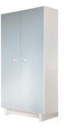Little Guy Comfort Fino 2-Door Children's Wardrobe (Dresser Door 2 Bedroom)