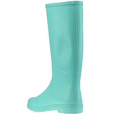 Aigle Chantebelle Pop 8556l - Botas de caucho para mujer, color azul, talla 36 Jade
