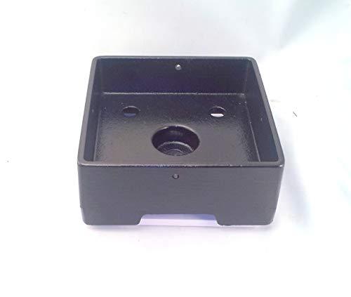 4x4 Post Anchor HD Aluminum Structural - Ornamental- Powder -