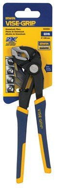 IRWIN Tools VISE-GRIP Tools GrooveLock Pliers, V-Jaw, 6-inch (4935351) by Irwin Tools