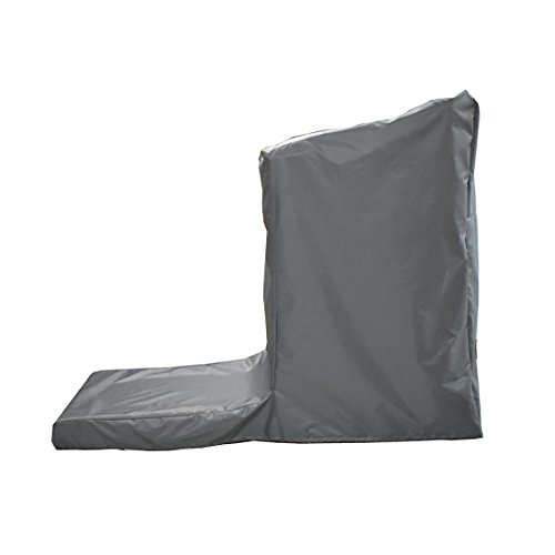 LJNGG Treadmill Protective Cover Non-Folding Running Machine Protector Dustproof Waterproof (Gray, L) by LJNGG (Image #2)