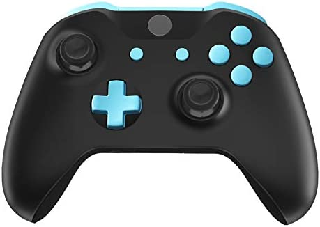 eXtremeRate LB RB LT RTバンパー トリガー D-Pad ABXY スタートバック 同期ボタン フルセット ボタン修理キット Xbox One S & Xbox One X コントローラー用ツール付き (モデル 1708) SXOJ0218