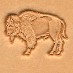 Tandy Leather 3D Buffalo Stamp 88418-00
