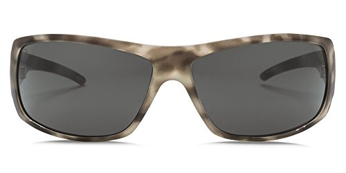 Olive Tortoise Frame (Electric Charge Sunglasses Matte Olive Tortoise Frame, Ohm Grey Lens)