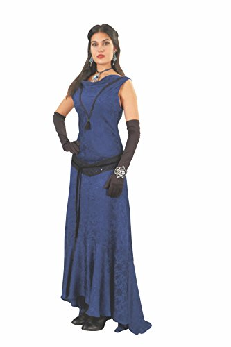 Museum Replicas Blue Hellfire Gown - X-Large
