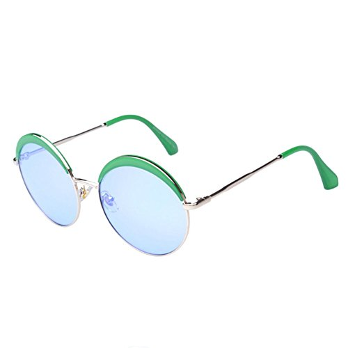 MosierBizne The New Circular Fashion Sunglasses Driving Ms UV Sunglasses Shade Glasses - Anon Uk Goggles