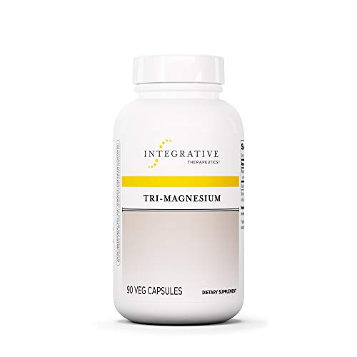 (Integrative Therapeutics - Tri-Magnesium - Well Tolerated Elemental Magnesium including Magnesium Citrate and Magnesium Malate - Supports Cellular Metabolism and Energy Production - 90 Count)