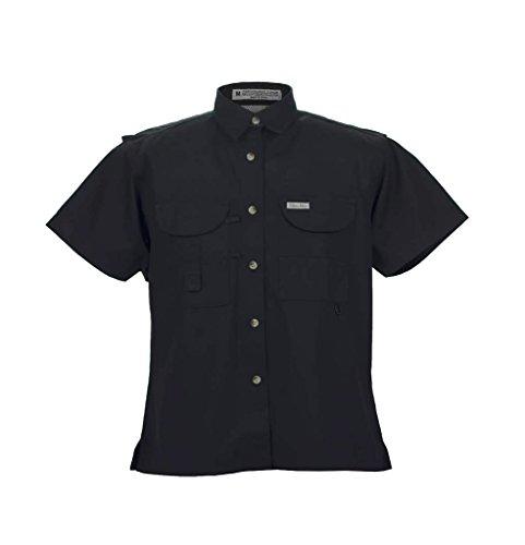 Tiger Hill Ladies Fishing Shirt Short Sleeves Black X-Large