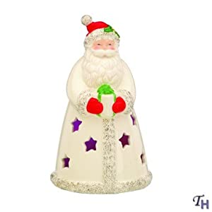 Lenox Christmas Seasons Sparkle Lighted Santa