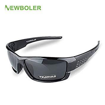 4a6ab4b87480 Model 1 Black : NEWBOLER Sunglasses Men Polarized Sport: Amazon.in:  Electronics