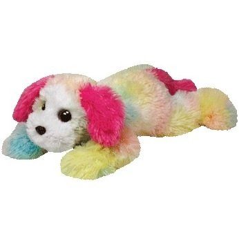 Ty Classic Yodel Rainbow Dog X-Large Plush