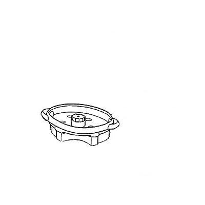 Bac Blanc Inferieur Référence : Ms-982870 Pour Pieces Preparation Des Boissons Petit Electromenager Seb