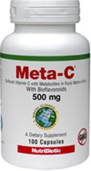 Nutribiotic Meta-c 500 mg, 100 Caps, 100 Count