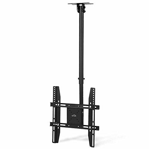 SIMBR TV Ceiling Mount Bracket Adjustable Full Motion Quick Installation for 22-55