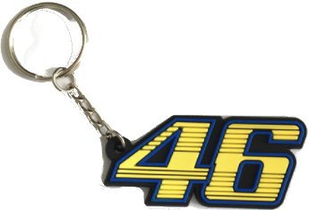 TGH LLavero Valentino Rossi Numero 46 Amarillo Moto GP ...