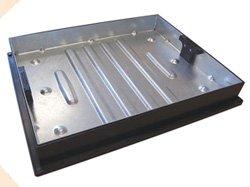 ClarkDrain 600x600 x 80mm Galvanised Block