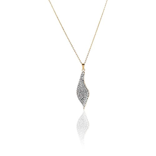 CLEOR - Collier CLEOR Or 375/1000 Cristal - Femme - Taille Unique