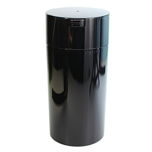 Tightvac - 5oz to 24 ounce Vacuum Sealed Container - Black Pearl Tinted Body/Cap