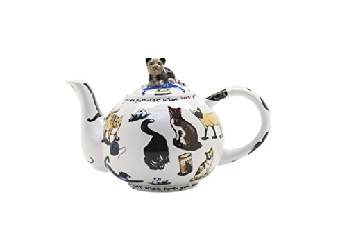 Cardew Design Cat-Tea 2-Cup Teapot, 18-Ounce