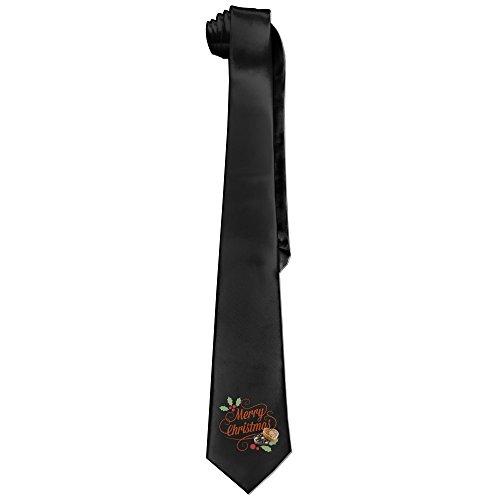 xmas-mens-santa-claus-and-godiva-fashion-business-solid-necktie-tie