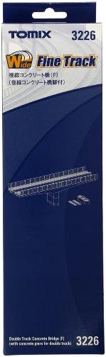 TOMIX Nゲージ 複線コンクリート橋 F 複線コンクリート橋付 3226 鉄道模型用品の商品画像