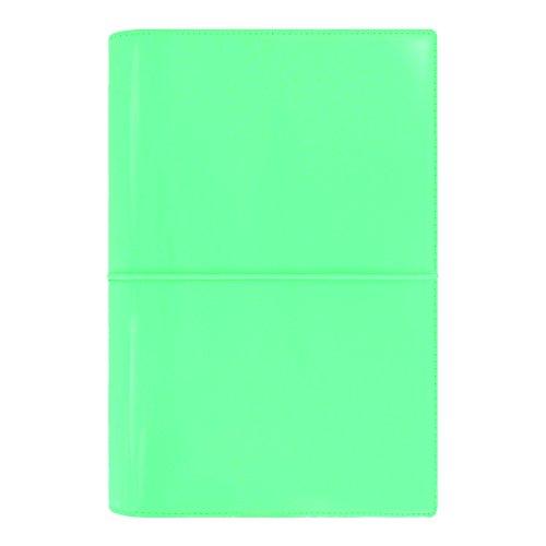 Filofax Domino (Filofax 2018 Personal Domino Organizer, Patent Turquoise, Paper Size 6.75 x 3.75 inches (C022514-18))