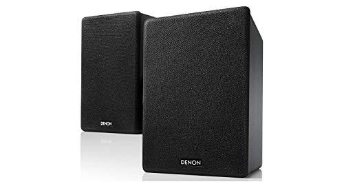 Denon Ceol Draadloos en CD Hi-Fi Systeem Luidsprekers Zwart