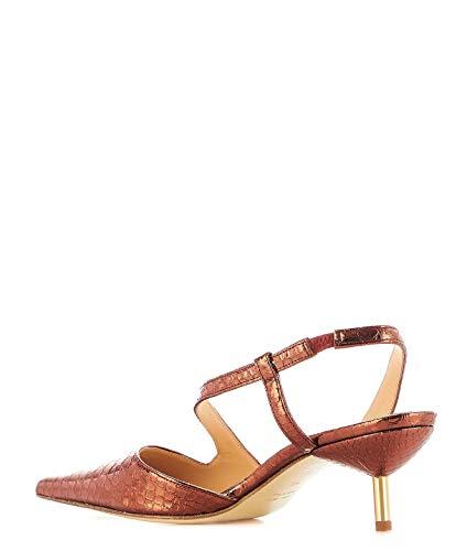 pelle Tes224352bronze Sandali in color bronzo Viozzi Donna Giampaolo wZXEx4qw