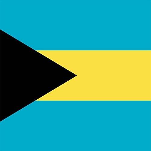The Bahamas - World Country National Flags - Vinyl Sticker