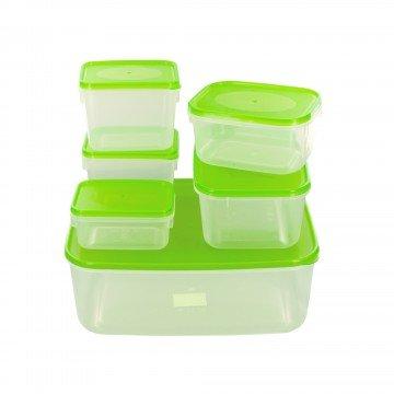 Parte perfecto contenedores de almacenamiento de alimentos con ...