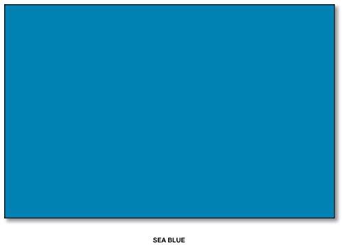 Mohawk BriteHue Bright Color Paper, 24/60lb paper. Text 100 Sheets Per Pack (11 x 17, Sea (Blue 60lb Text)